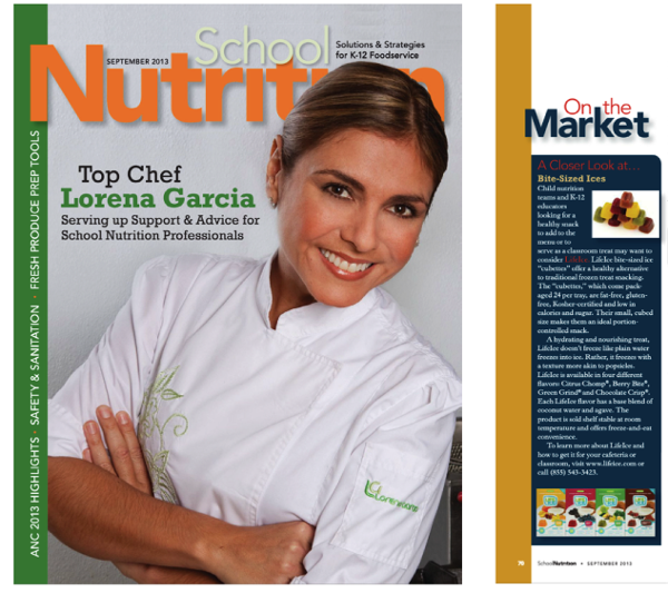 School Nutrition Magazine - September 2013