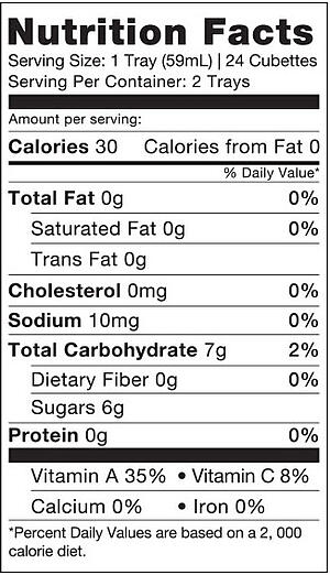 citrus nutrition facts