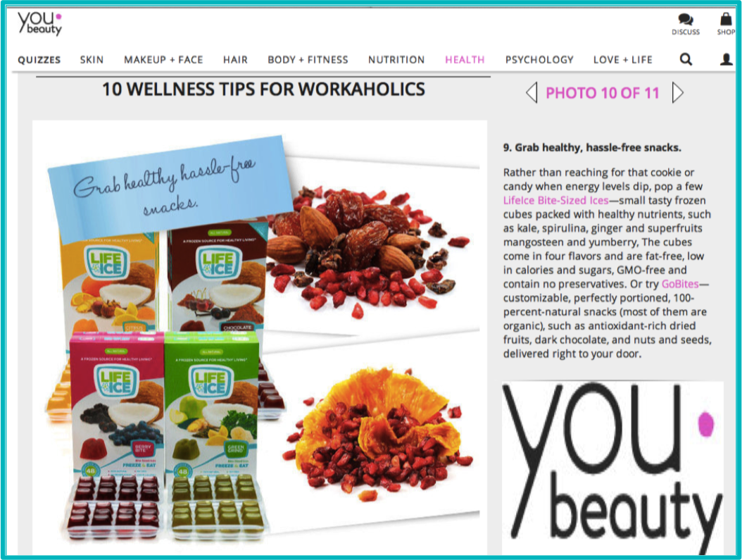 Dr. Oz's YouBeauty.com - October 2013